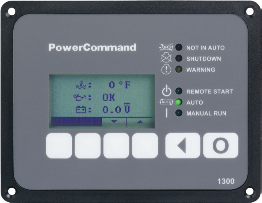 Cummins Onan Connect Series Accessory HMI 211 Remote Unit