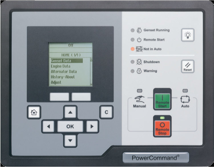 cummins onan connect series accessory hmi 220 remote unit