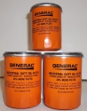 Generac Oil Filter 070185E 3 Pack Extended Life Oil Filter is 30% Longer, 30% More Capacity