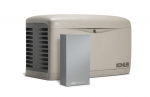 Kohler 14kW Air Cooled Standby Generator and 200 Amp Automatic Transfer Switch | 14RESAL-200
