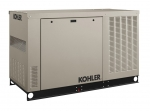 Kohler 30kW Liquid Cooled Generator Natural Gas or Propane Single Phase 240V | 30RCL