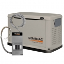 Generac Guardian 8kW Home Standby Generator Pre-Packaged with 50 Amp 10 Circuit Automatic Transfer Switch 6237