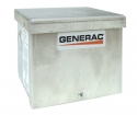 50 Amp 125V 250V Rain Tight Aluminum Power Inlet Box CS6365 By Generac