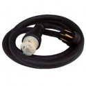 50 Foot 50 Amp Generator Cord with NEMA 1450 Male and Locking C6364 Female By Generac