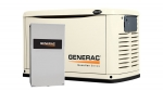 Generac Guardian 16kW Standby Generator NG/LP Single Phase Steel Pre Packaged with 200 Amp Service Rated ATS | 6462