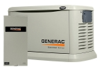 Generac Guardian 22kW Standby Generator NG/LP Single Phase Aluminum Pre Packaged with 200 Amp Service Rated ATS | 6551