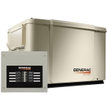 7.5kW Generac PowerPact 6998 Home Standby for Essential Backup Power with 50A Load Center ATS | 6998