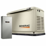 16kW Generac Guardian Home Standby Generator with 100A, 16 Circuit Load Center | 70361