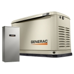 20kW Generac Guardian Standby Generator with 200 Amp Whole House Automatic Transfer Switch | 7039