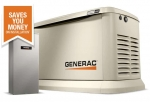 22kW Generac Guardian Home Standby Generator with 200A SE Rated ATS | 70432