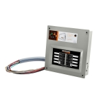 Generac HomeLink 50 Amp Manual Transfer Switch for Portable Generator | 9854